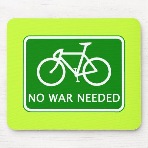 No monte en bicicleta ningún producto necesario gu alfombrilla de ratones