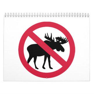 No moose calendar