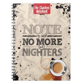 No More All Nighters Notebook