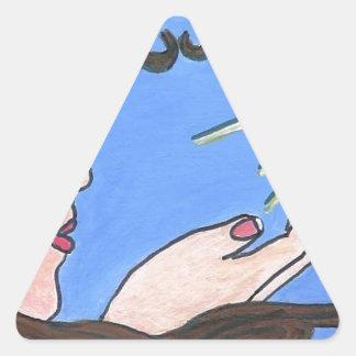 No more alone triangle sticker