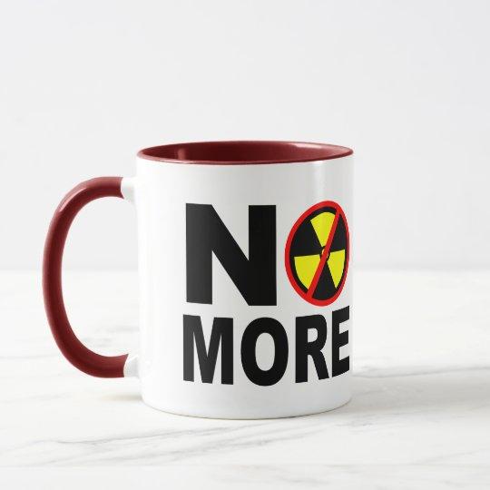 No More Anti-Nuclear Protest Slogan Mug