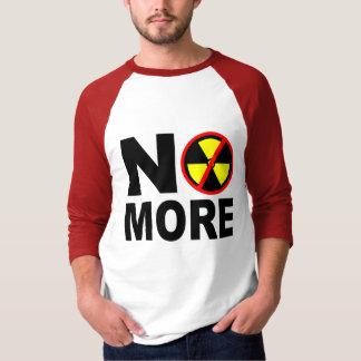 No More Anti-Nuclear Protest Slogan Tee Shirt