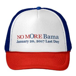 No mOre Bama January 17, 2017 Last Day Trucker Hat