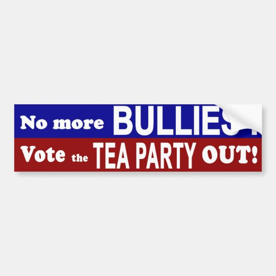 No More Bullies 1 Bumper Sticker