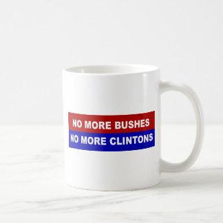 No More Bushes, No More Clintons Coffee Mug