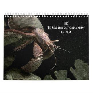 """""""No More Charismatic Megafauna!"""" - calendar"""
