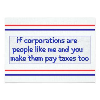 No More Corporate Welfare Invites