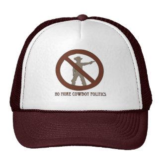 No more Cowboy Politics Trucker Hat