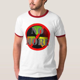 No More Custom Anti-Nuke Symbol T-shirt