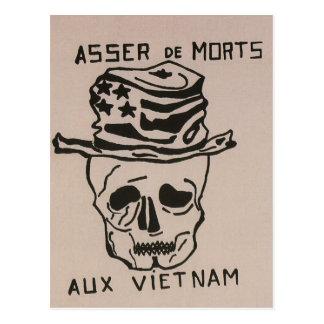 No more deaths_Propaganda_poster Postcard
