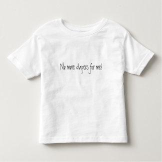 No more diapers tee shirt
