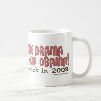 No More Drama, Shut Down Obama Mug