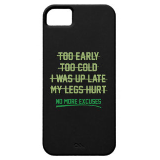 No More Excuses iPhone SE/5/5s Case