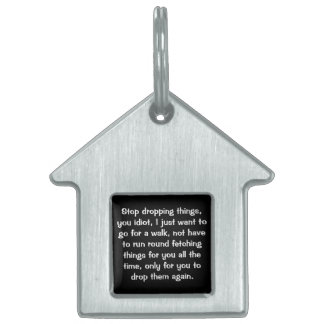 No more fetching pet tag