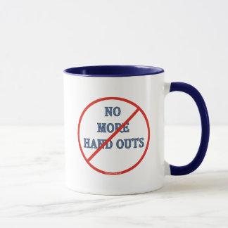 No More Handouts Mug
