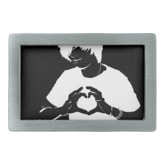 No More Meanies Aiden Loves You Buckle (trans*) Belt Buckle