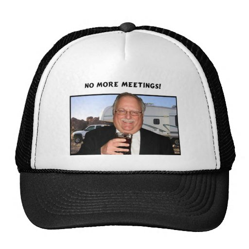No more meetings hat