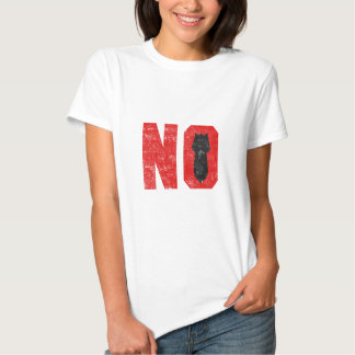 No More Missles/Bombs! Shirt