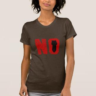 No More Missles/Bombs! T-shirt