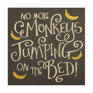 monkeys jumping on the bed gifts on zazzle. Black Bedroom Furniture Sets. Home Design Ideas