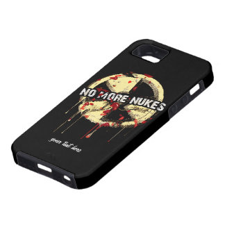 NO MORE NUKES! NO MORE TRAGEDY! iPhone 5 COVER