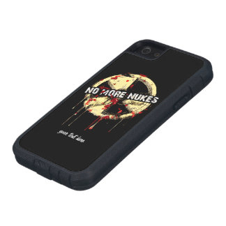 NO MORE NUKES! NO MORE TRAGEDY! iPhone 5 CASE