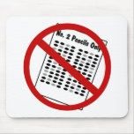 No more Numbers 2 Pencils Mouse Pad