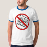 No more Numbers 2 Pencils T-Shirt