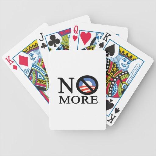No More Obama Bicycle Playing Cards