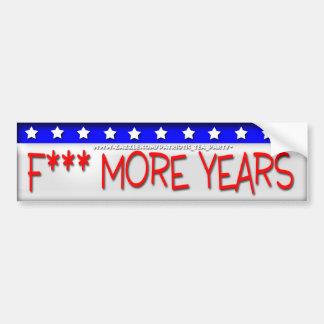 No More Obama Bumper Sticker