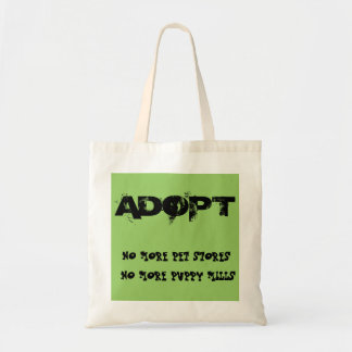 No More Pet Stores and Puppy Mills Tote