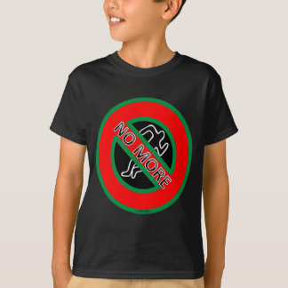 NO MORE police violence against Black People T-Shirt