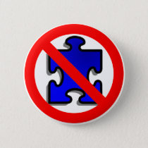 No More Puzzle Pieces for Autism. Button
