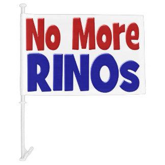 No More RINO's Car Flags