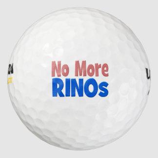 No More RINO's Golf Balls, pink & blue Golf Balls