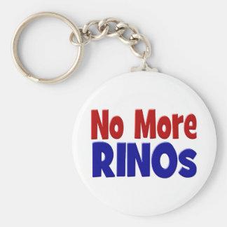 No More RINOs Key Chain