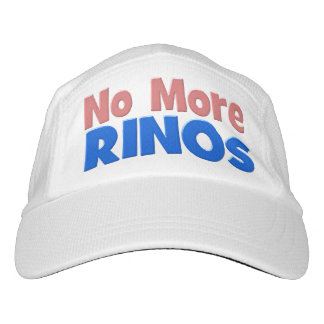No More RINOs Performance Hat, pink & blue Hat