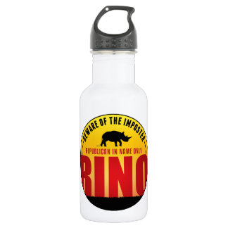 No More RINO's Stainless Steel Water Bottle