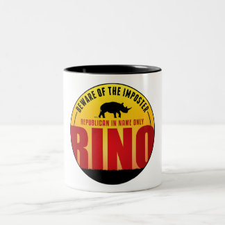No More RINO's Two-Tone Coffee Mug
