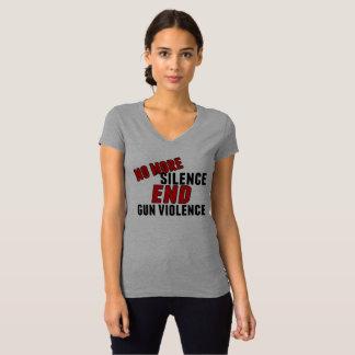 No More Silence End Gun Violence T-Shirt