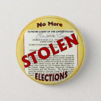 No More Stolen Elections Button