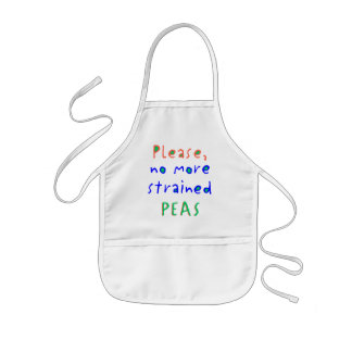 No More Strained PEAS Apron