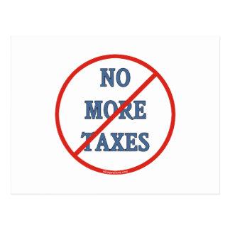 No More Taxes Postcard