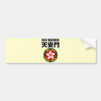 No more Tiananmon Bumper Sticker