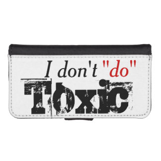 No More Toxic iPhone SE/5/5s Wallet Case