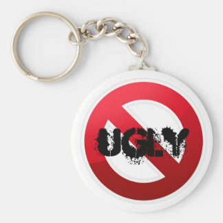 No More Ugly Keychain