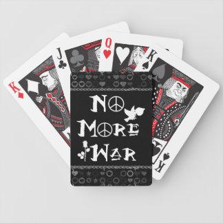 No More War Bicycle Playing Cards