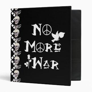 No More War Binder