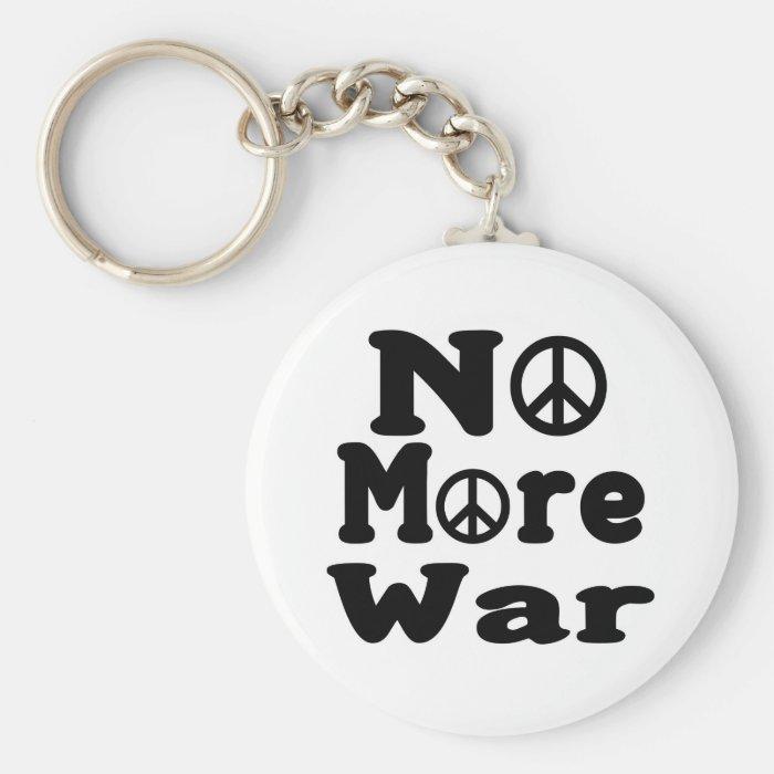 No More War! Keychain