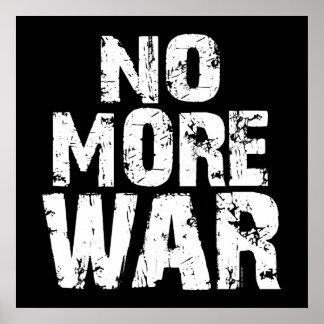 No More War Poster